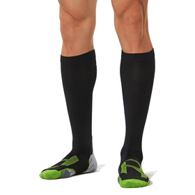 2XU M's Compression Socks for Recovery black/grey